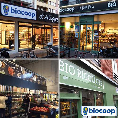 Biocoop poursuit son expansion en Île-de-France
